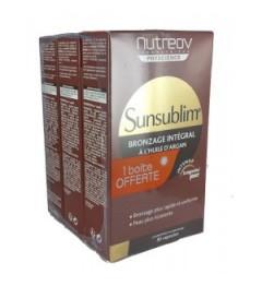 Nutreov Sunsublim Préparation Soleil Bronzage Intégrale 3x30 Capsules