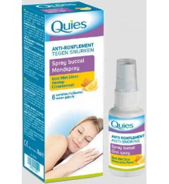 Quies Anti-Ronflement Spray Miel Citron 70Ml pas cher