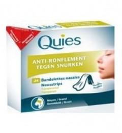 Quies Bandelette Nasale Anti Ronflement Petit Modèle Bte/24