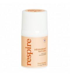 RESPIRE Déodorant naturel Roll-on Fleur d'Oranger 50ml