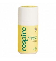 RESPIRE Déodorant naturel Roll-on Bergamote 50ml