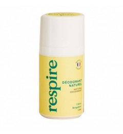 RESPIRE Déodorant naturel Roll-on Bergamote 15ml