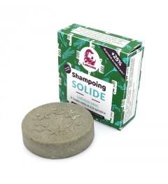 Lamazuna Shampoing Solide 70 Grammes Cheveux Gras Spirule et Argile Verte