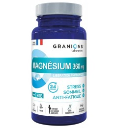 Granions Magnésium Stress Sommeil Anti Fatigue 60 Comprimés