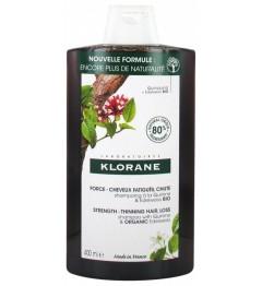 Klorane Shampooing Quinine et Edelweiss Bio 400Ml