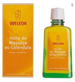Weleda Huile de Massage au Calendula 100Ml pas cher
