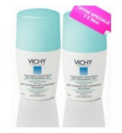 Vichy Déodorant Anti-Trace Bille 2x50Ml