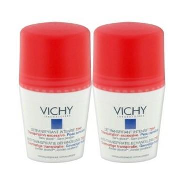 Vichy Déodorant Intensif Transpiration Excessive Bille 2x50Ml