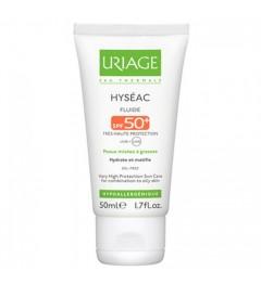 Uriage Hyseac SPF50 Fluide Peaux Mixtes à Grasses 50Ml, Uriage pas cher