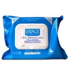 Uriage Lingettes Démaquillante Visage et Yeux Paquet de 25 pas cher