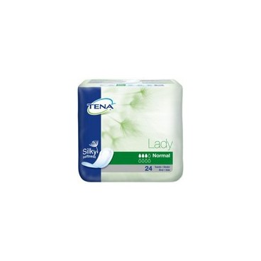 Tena Lady Silky Protection Anatomique Normal Paquet de 24 pas pas cher