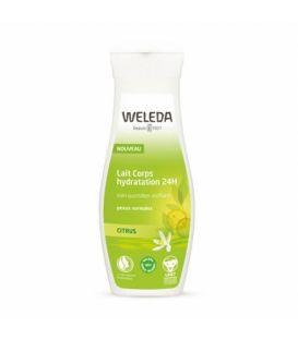 Weleda Lait Corps Hydratation Citrus 200Ml
