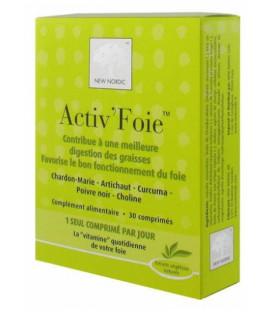 Activ Foie 30 Comprimés