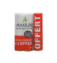 Amilab Stick Lèvres 2+1 offert pas cher