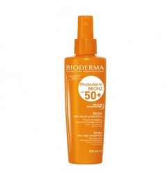 Bioderma Photoderm Bronz SPF50 Spray 200Ml pas cher pas cher