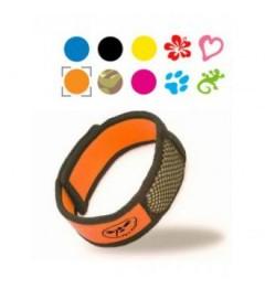 Parakito Bracelet Anti Moustique Naturel Couleur Orange pas cher pas cher