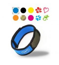 Parakito Bracelet Anti Moustique Naturel Couleur Bleu pas cher pas cher