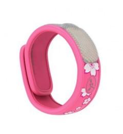 Parakito Bracelet Anti Moustique Naturel Couleur Rose pas cher pas cher