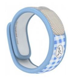 Parakito Bracelet Anti Moustique Naturel Couleur Graffic Bleu pas cher