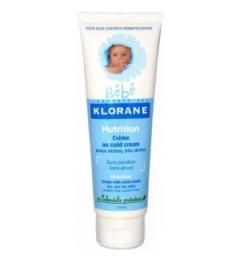 Klorane Bébé Crème Nutritive au Cold Cream 125Ml pas cher pas cher