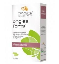 Biocyte Ongles Forts 120 Gélules pas cher pas cher