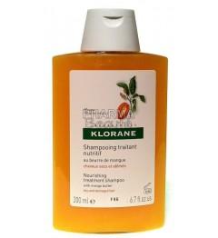 Klorane Shampoing Nutritif au Beurre de Mangue 200ml pas cher pas cher
