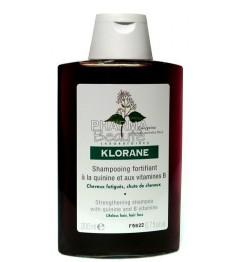 Klorane Shampoing Fortifiant à la Quinine 200ml pas cher pas cher