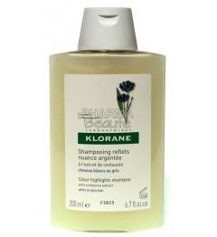Shampoing Klorane Reflets Nuance Argentée à la Centaurée 200ml