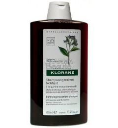 Klorane Shampoing Fortifiant à la Quinine 400ml pas cher