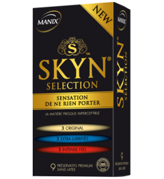 Manix Préservatif Skyn Sélection Boite de 9