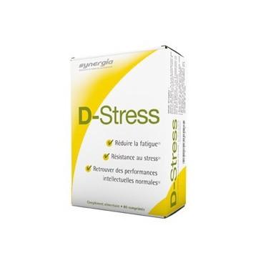Synergia D-Stress 80 Comprimés pas cher