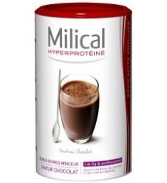 Milical Hyper Protéine Milk Shake Chocolat 18 Repas pas cher