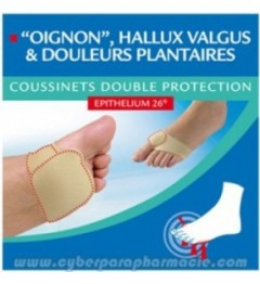 Epitact Coussinets Double Protection Epithélium 26 Taille 39-41