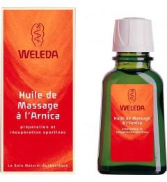Weleda Huile de Massage à l'Arnica 50 ml pas cher