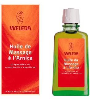 Weleda Huile de Massage à l'Arnica 100 ml pas cher