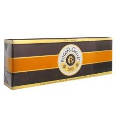 Roger Gallet Savons Parfumés Bois d'Orange Lot de 3 x 100g