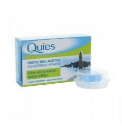 Quies Ear Planes Protections Auditives Adultes 1 paire pas cher