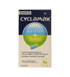 Cyclamax Sommeil+Stress 32 Capsules pas cher pas cher