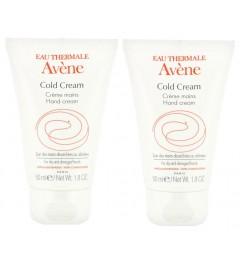 Avène Cold Cream Crème Mains 50ml Lot de 2 pas cher