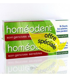 Homeodent Gencives Sensibles Anis 2x75Ml