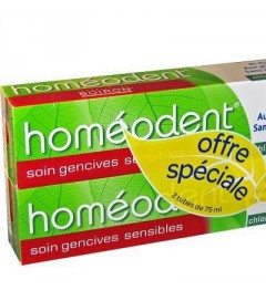 Homéodent Chlorophylle Soin Gencives 75ml Lot de 2