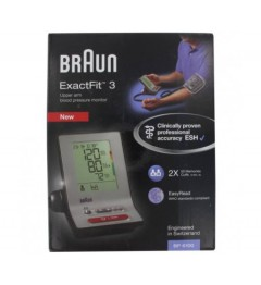 Braun Tensiomètre Exactfit 3 BP6100 pas cher