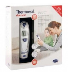 Thermomètre Thermoval Duo Scan Auriculaire et Frontal pas cher