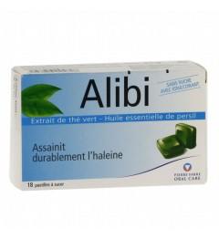 Alibi Pastilles contre l'Halitose Boite de 18 pas cher
