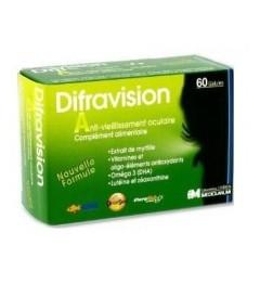 Difravision Complément à Visée Oculaire 60 Gélules pas cher