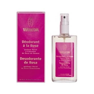 Weleda Déodorant Rose 100Ml