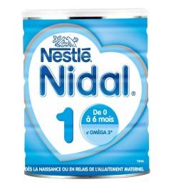 Nidal Lait 1er Age Bag In Box 2x350 grammes