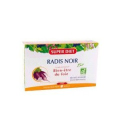 Superdiet Solution Buvable Radis Noir 20 Ampoules