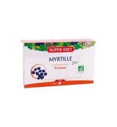 Superdiet Solution Buvable Myrtille 20 Ampoules pas cher