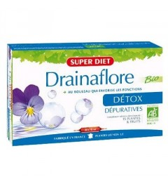 Superdiet Solution Buvable Drainaflore 30 Ampoules